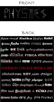2014 Physics T-Shirt Design Image