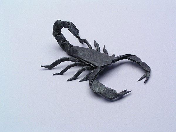 Origami Scorpion Instructions Robert J Lang Psychologyarticlesfo