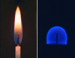 Flames in Space image