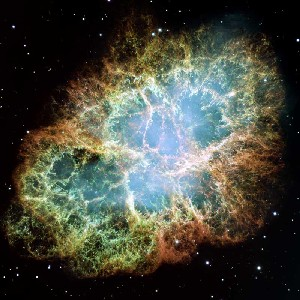 Crab Nebula and Pulsar image