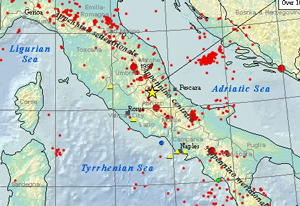 Earthquake Summary Poster: L'Aquila, Italy image