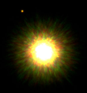 APOD: Companion of a Young, Sun-like Star Confirmed image