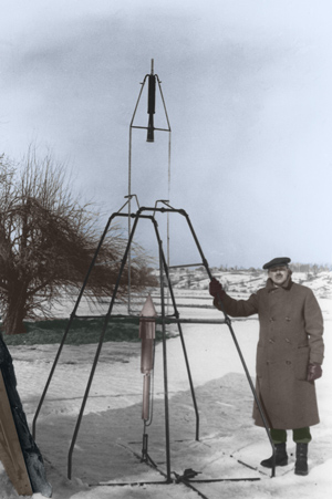 Rockets and Robert Goddard image