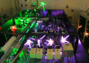 Michigan laser beam believed to set record for intensity image