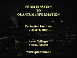 From Einstein to Quantum Information