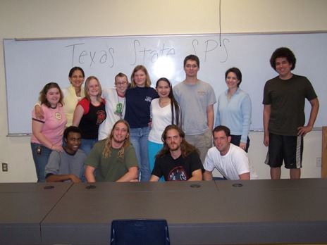 Texas State University - San Marcos SPS Chapter Image
