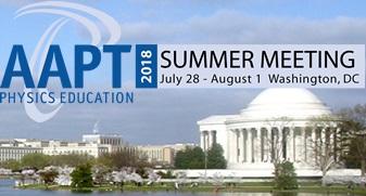 AAPT Summer Meeting 2018