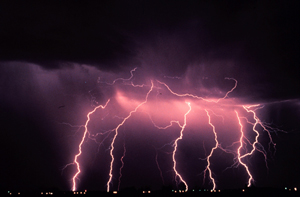 NSSL Lightning Information:  Q&A about Lightning image
