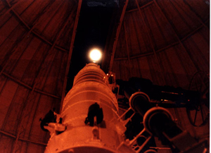 "photo credit: Yerkes Observatory; <a href=""http://astro.uchicago.edu/vtour/40inch/moonalong40inch.jpg"" target=""_blank"">image source</a>"