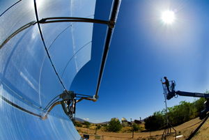 Parabolic Trough Solar Collector image