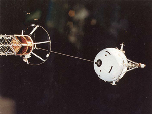 A Tether in Space image