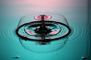 Liquid Drop Art image