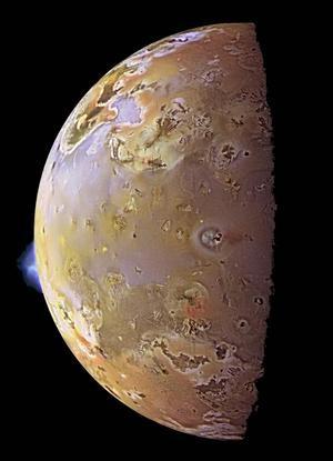 Io's Alien Volcanoes image