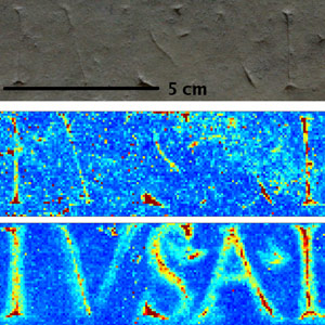 X-Ray Fluorescence Recovers Ancient Text image