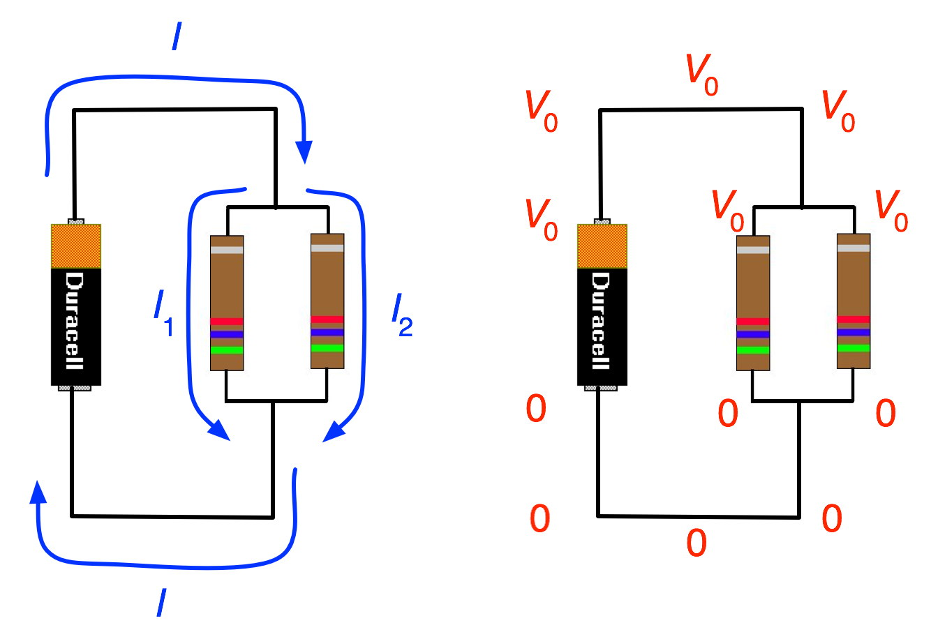 Example  Resistors In Parallel
