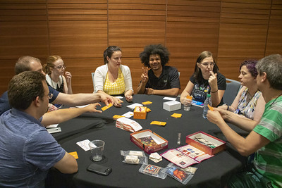 Happy Game Night participants at the 2019 Summer Meeting in Provo