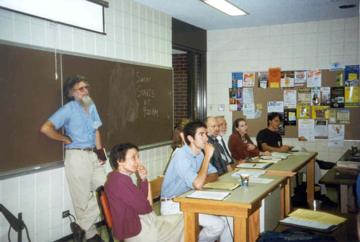 Photo of people at the first PERC in 1997